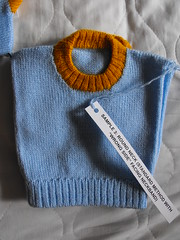 Round neckline and neckband (phil_1987) Tags: reed silver knitting 4 machine course yarn correspondence ply knitmaster