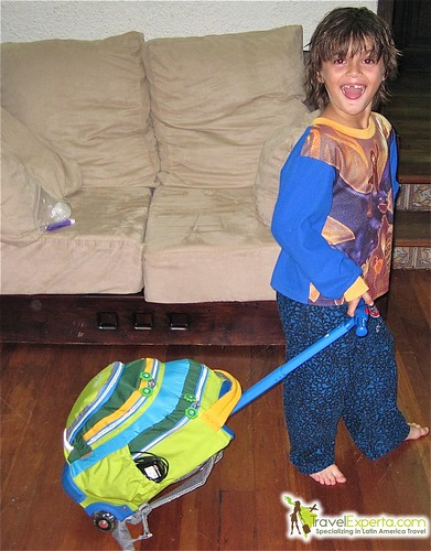 Kid's Rolling Suitcase - A Travel Kids Suitcase Review