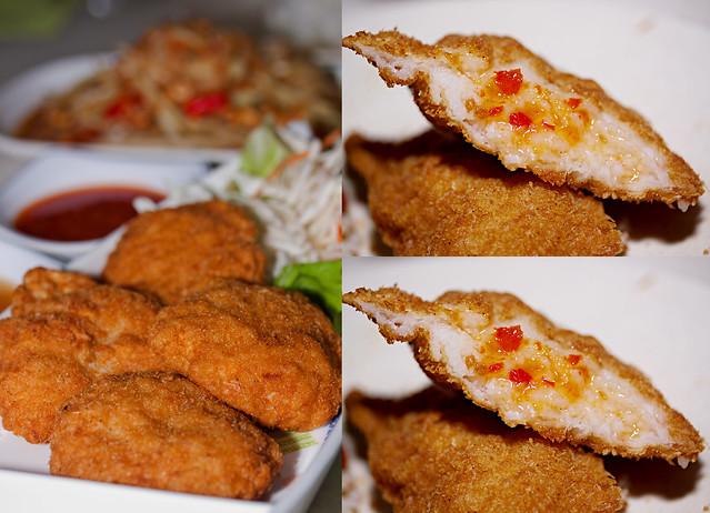 Deep Fried Prawn Cake (4 pcs) @ $10