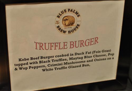 truffle signage