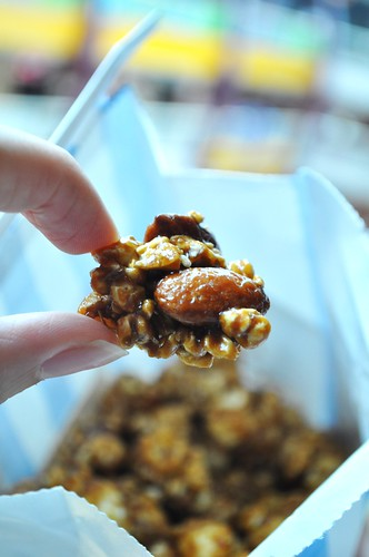 crispycaramel almonds