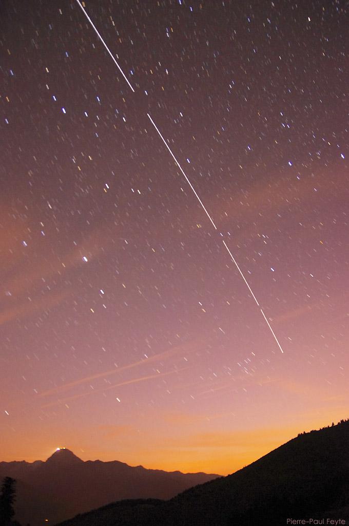 ISS et le Pic du Midi