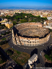 KAP over the Coliseum in Rome with a Canon S95 (Pierre Lesage) Tags: italy panorama rome coliseum kap heidy kiteaerialphotography autokap gopro pierrelesage danleighdeltar8 kapstock canons95 travelautokaprig autopanogiga24