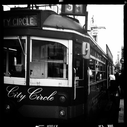 City Circle tram Melbourne. Day 289/365.
