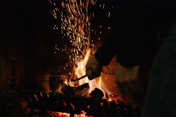 fire sparkles
