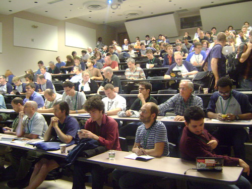 During Talks at SotM11