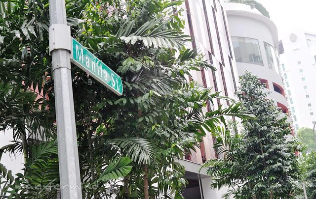 Manila St. in Singapore