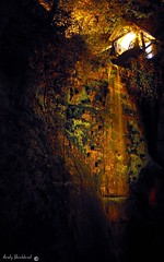 Shanklin chine at night