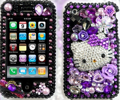 purple & black hello  kitty