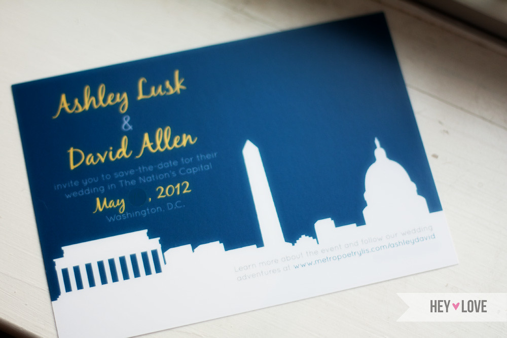 Lusk-Allen Save the Dates