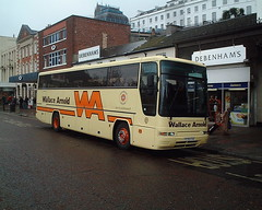 Wallace Arnold T530 EUB (iantherev) Tags: holiday volvo coach tour torquay plaxton wallacearnold b10m t530eub