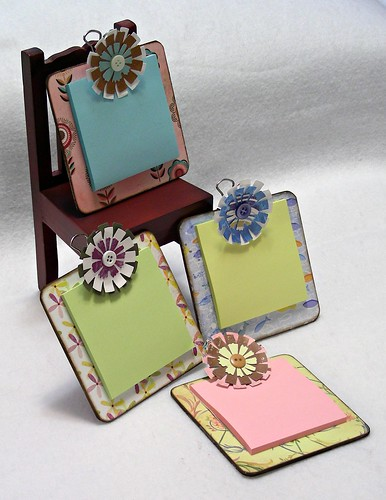 Mini Clipboards for Post it Notes