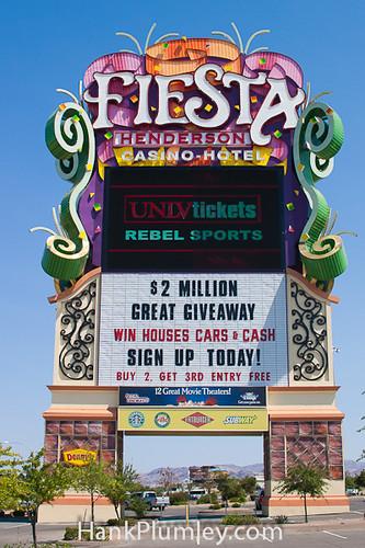 Fiesta Casino Sign