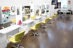 Photo du salon de coiffure ICÔNE Coiffeurs-Visagistes à Montréal