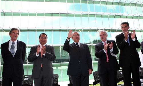 Inauguración del Parque Tecnológico Cien del ITESM