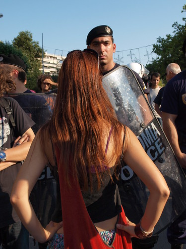 Anti-government protests - Thessaloniki, Greece by Teacher Dude's BBQ