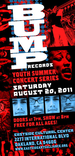 BUMP  Records album release flier