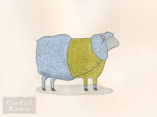 sheep in sweater 1