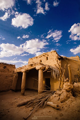 Old House + 2 Photos (Saleh Mohammed) Tags: wood old blue sky house canon eos dc sigma earthy mohammed guillaume 1020mm hdr 456 saleh   d600     hsm