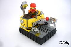 Repair station (FilipS) Tags: station lego space repair fi vignette sci moc vig diidy