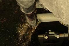 Dbarqu (Atreides59) Tags: bunker blockhaus world war guerre mondiale atlantique wall mur murdelatlantique atlantiquewall pied foot atreides atreides59 pentax pentaxart cedriclafrance vestige ww wwii weltkrieg atlantic atlantik atlantikwall blockhouse dbarquement debarquement dday history histoire old ancien abandoned abandonn decay me moi chaussures shoes