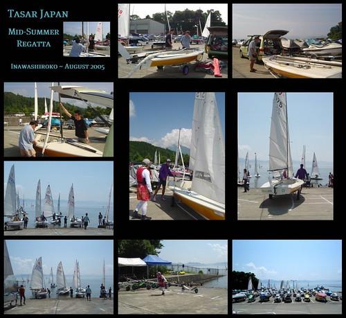 The Tasar Japan Mid-Summer Sailing Regatta ~ August 2005