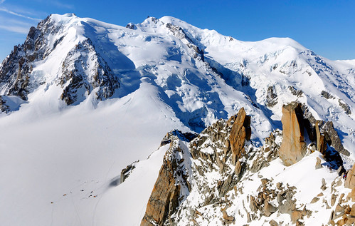 From Chamonix to Courmayer - Aiguille du Midi 26
