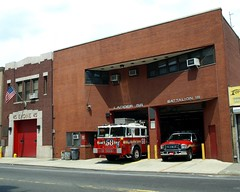 E045 FDNY Firehouse Engine 45, Ladder 58 & Battalion 18, West Farms, Bronx, New York City (jag9889) Tags: county city nyc house ny newyork building car station architecture truck movie fire automobile bronx chief south engine 45 company transportation vehicle borough ladder portfolio 18 firehouse avenue suv fdny department eagles firefighters tremont seagrave 58 1879 bravest battalion 2011 westfarms carolalt engine45 ladder58 battalion18 e045 y2011 jag9889