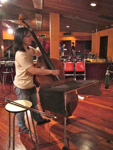 Brandon on double bass