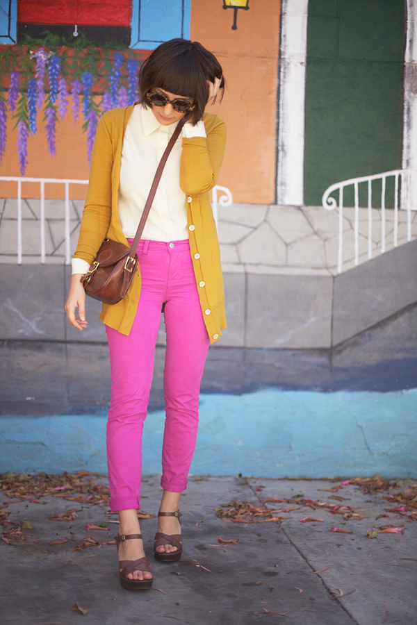 calivintage: pink pants