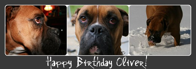 Happy Birthday Oliver