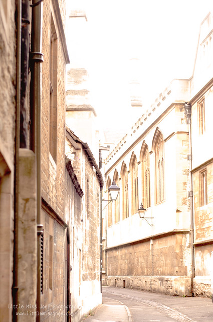 oxford narrow streets