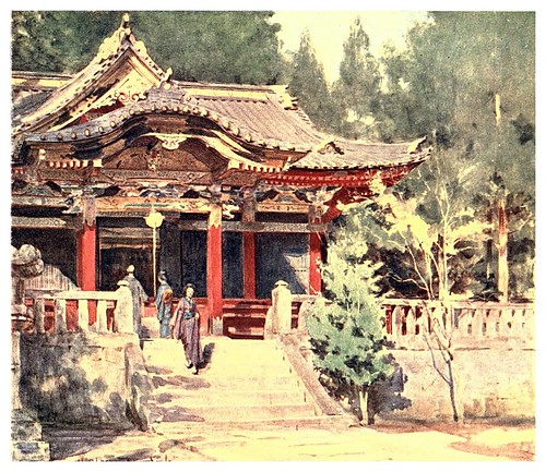 017- Un templo en Nikko-Japan & the Japanese 1910- Walter Tyndale
