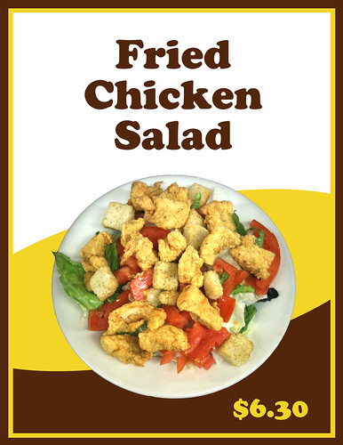LaPlace Frostop Fried Chicken Salad by LaPlace Frostop