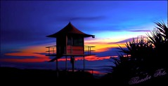 Burliegh Bright 2 (a777thunder (Thanks for your support)) Tags: beach sunrise australia queensland lifeguardtower burleigh
