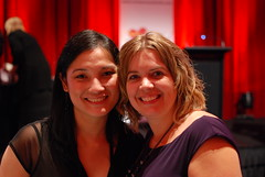 2011 R*BY Awards: Kat with Carina Press editor Angela James
