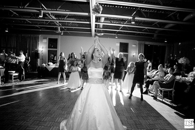 Hotel Bellwether Bouquet Toss