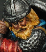 Grenadier Fighting Man Battle Axeman (Detail)