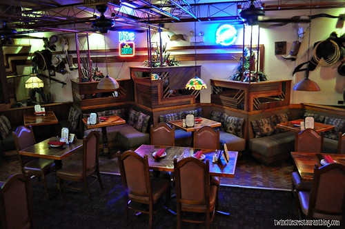 Lower Dining Area at Al's Char House ~ La Grange, IL