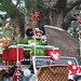 Minnie Mouse in the Parade at Disney's Animal Kingdom