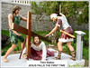'3rd Station of the Cross' at St. Anne's Sanctuary, Bukit Mertajam