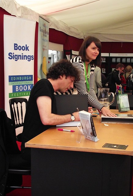 Edinburgh International Book Festival - Neil Gaiman 04