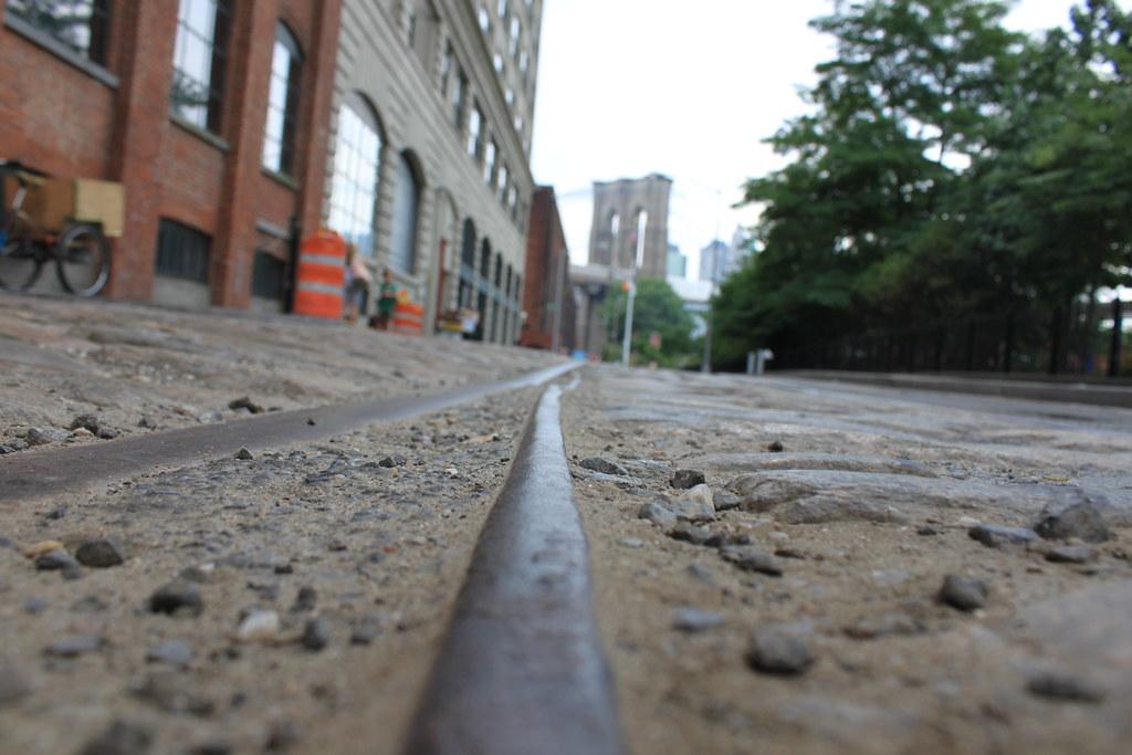 Brooklyn Bridge from Plymouth Street