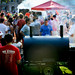 A large crowd gathered to enjoy the food and fellowship at the Chillin' and Grillin' event.