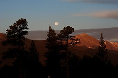 Moonset fromTaylor