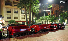 Ferrari's 599 GTO & F50 & 458 Italia [Explored!] (RGT3 Pics) Tags: red white black paris france cars yellow canon silver rouge hotel automobile italia noir grigio uae fast automotive ferrari voiture casino monaco mc porsche enzo rolls gto carlo monte gt carbon bugatti rosso rs bianco blanc luxury rare romain nero scuderia royce luxe bentley maserati laren koenigsegg exotics supercars veyron f40 supersport f50 pagani 599 458 fxx 60d