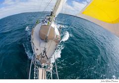 Sailing (john white photos) Tags: ocean sea nature water coast boat moving sailing yacht australian australia coastal bow sail southaustralia eyrepeninsula