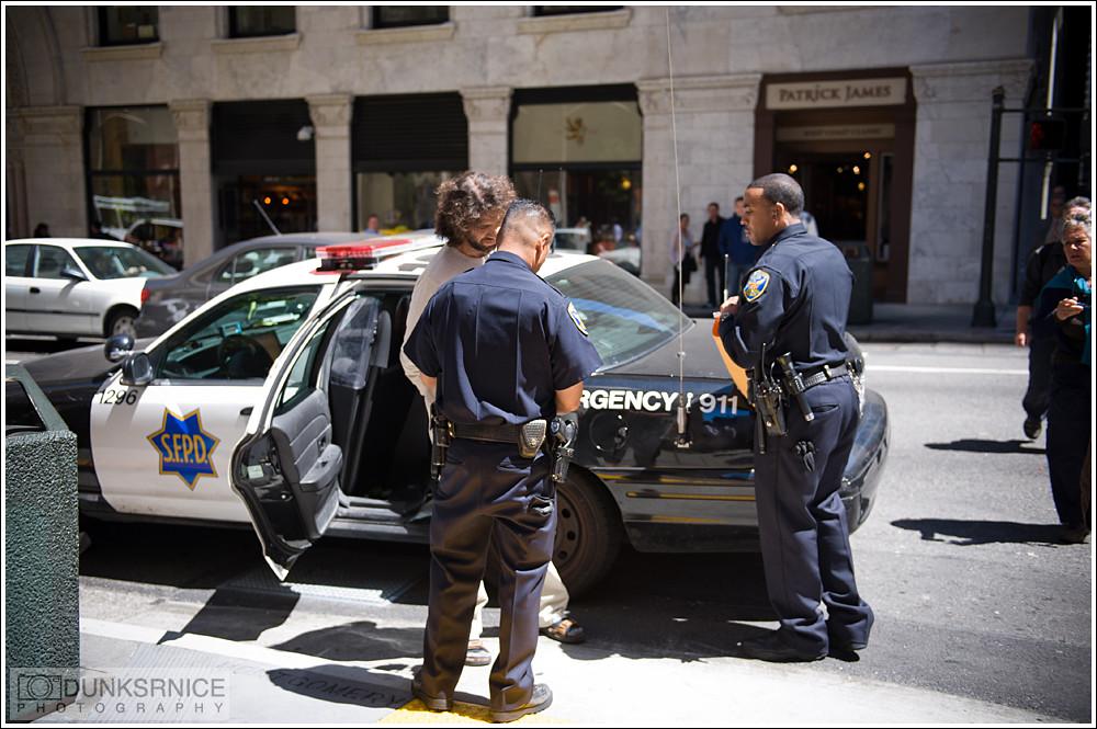 Arrest.