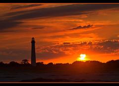 Lighthouse Sunset - Cape May, NJ (MurrayH77) Tags: sunset lighthouse nj wow1 capemaycounty 5795 panoramafotográfico mygearandme mygearandmepremium mygearandmebronze mygearandmesilver mygearandmegold ✿natureframeshot flickrstruereflection1 flickrstruereflection2