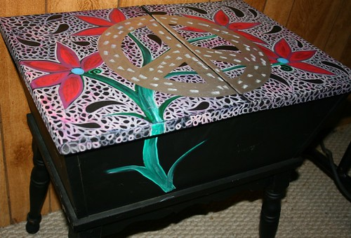 Storage Table by Rick Cheadle Art and Designs